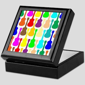 Rainbow Ukulele Keepsake Box
