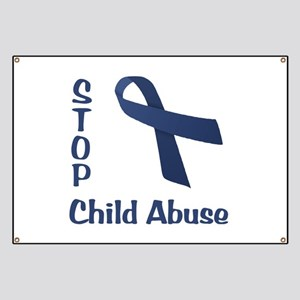 Stop Child Abuse Banner