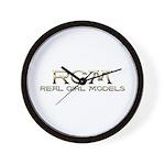 RGM-Real Girl Models Custom Wall Clock
