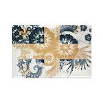 Quebec Flag Rectangle Magnet (100 pack)