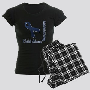 Child Abuse Awareness Women's Dark Pajamas