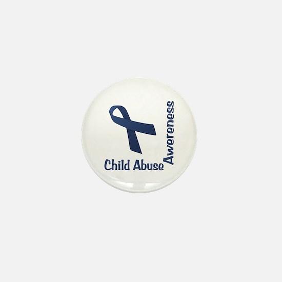 Child Abuse Awareness Mini Button