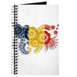 Romania Flag Journal