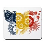 Romania Flag Mousepad