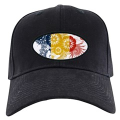 Romania Flag Baseball Hat