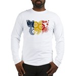 Romania Flag Long Sleeve T-Shirt