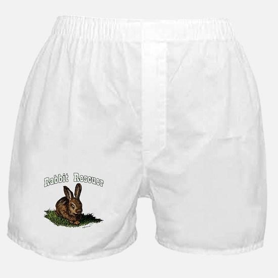 Rabbit Rescuer Boxer Shorts