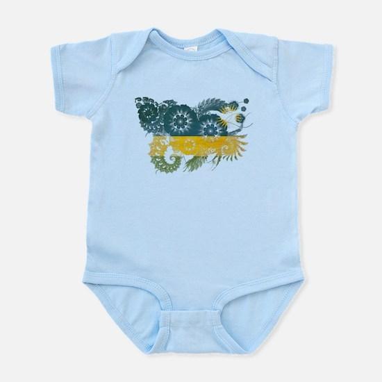Rwanda Flag Infant Bodysuit