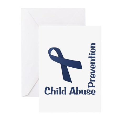 Child Abuse Prevention Greeting Cards (Pk of 10)