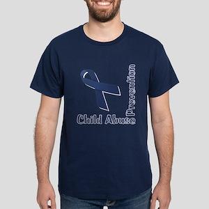 Child Abuse Prevention Dark T-Shirt