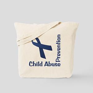 Child Abuse Prevention Tote Bag