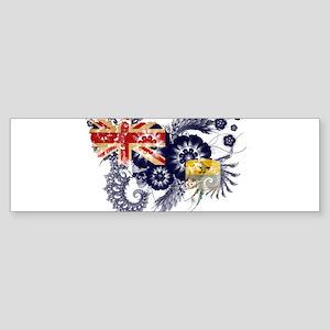 Saint Helena Flag Sticker (Bumper)