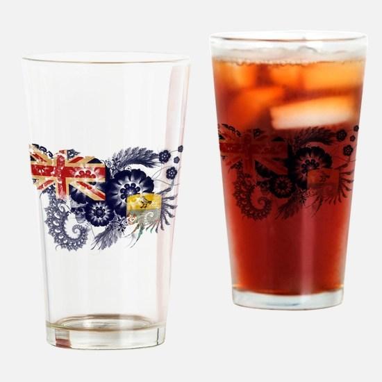 Saint Helena Flag Drinking Glass
