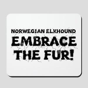 Norwegian Elkhound Mousepad