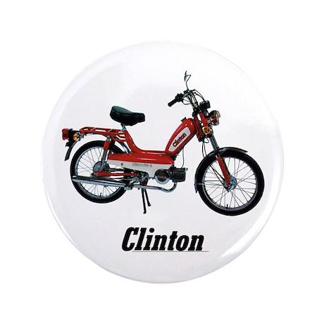 """Clinton 3.5"""" Button"""