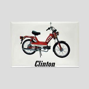 Clinton Rectangle Magnet