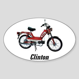 Clinton Sticker (Oval)