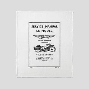 Velocette LE Throw Blanket
