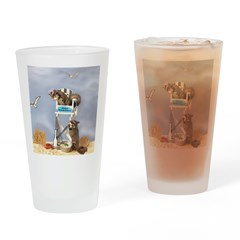Beach Patrol Drinking Glass