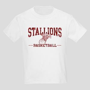 Stallions Basketball Kids Light T-Shirt