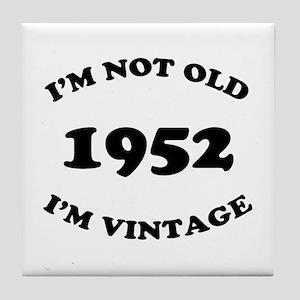 1952 Not Old, Vintage Tile Coaster