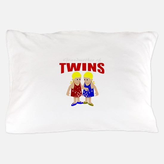 Grandmother of twins Pillow Case