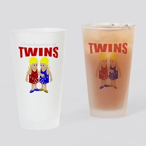 Grandmother of twins Drinking Glass