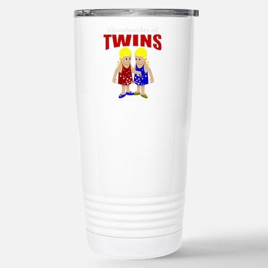 Grandmother of twins Stainless Steel Travel Mug