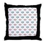 Cute Pastel Owls Throw Pillow