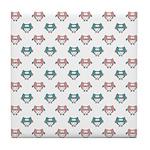 Cute Pastel Owls Tile Coaster