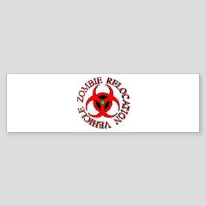 Zombie Response Vehicle Sticker (Bumper)