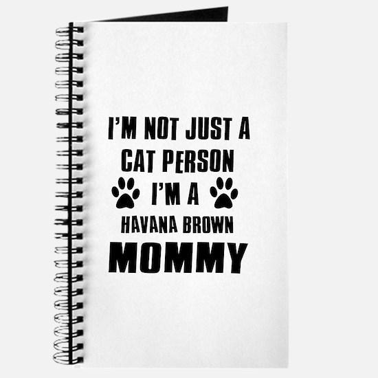 Havana Brown Cat Design Journal