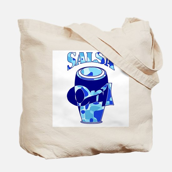 Blue Salsa Force Tote Bag