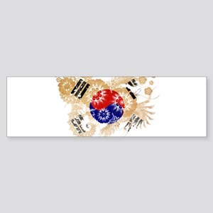 South Korea Flag Sticker (Bumper)