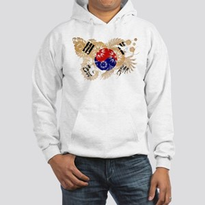 South Korea Flag Hooded Sweatshirt