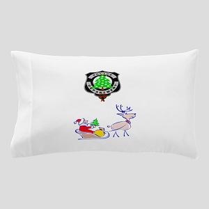 Police Christmas Pillow Case