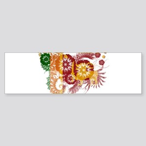 Sri Lanka Flag Sticker (Bumper)