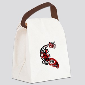 IN THE RUN Canvas Lunch Bag