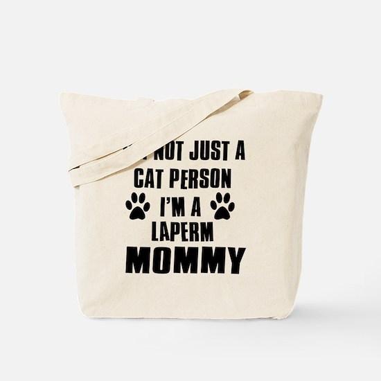 Laperm Cat Design Tote Bag