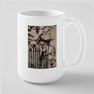 Egyptian Cats Large Mug