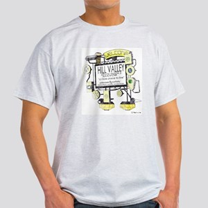 Welcome to Hill Valley, Light T-Shirt