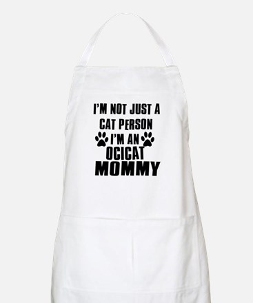 Ocicat Cat Design Apron
