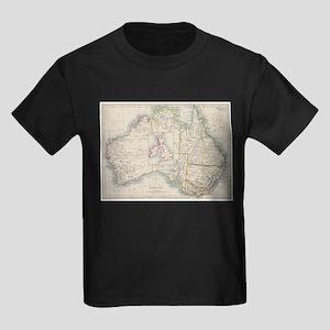 Australia and British Isles Size Compariso T-Shirt
