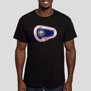 New Hampshire Flag Climbing Carabiner T-Shirt