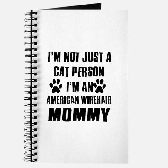 American Wirehair Cat Design Journal
