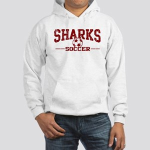 Sharks Soccer Hooded Sweatshirt