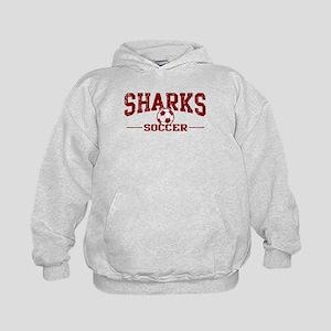 Sharks Soccer Kids Hoodie