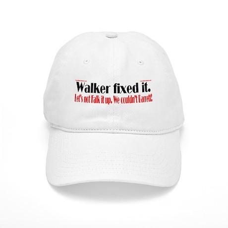 Walker fixed it. Cap