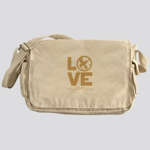 love and real or not real Messenger Bag