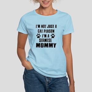 Siamese Cat Design Women's Light T-Shirt